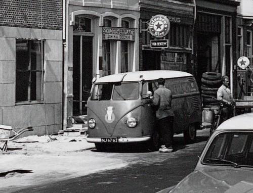 NJ-67-62 Volkswagen Transporter bestelwagen 1953