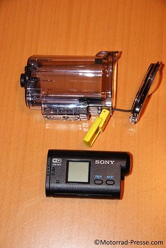 wasserdichtes Gehäuse für Sony HDR-AS15
