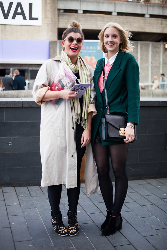 Street Style - Jo & Hannah, Vogue Festival