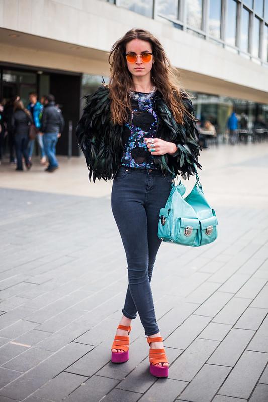 Street Style - Keziah, Vogue Festival