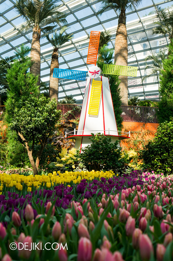 Gardens by the Bay Flower Dome - Tulipmania