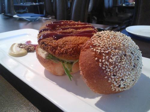 Menchi-Katsu Burger