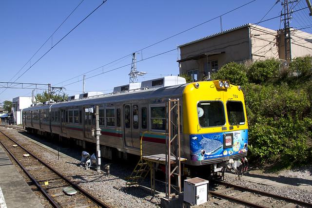 上毛電鉄 水族館列車