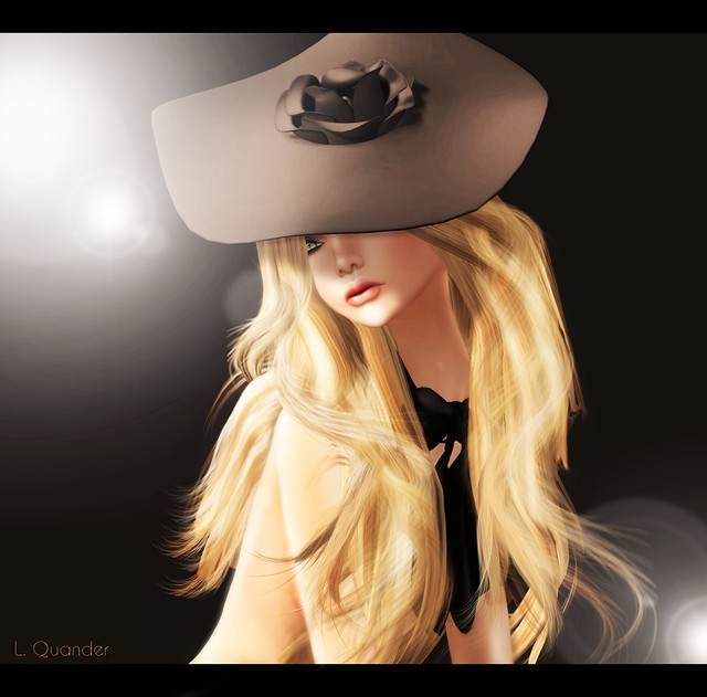 -Glam Affair- Giant Dish Hat and Margot Skin 'Clean' with Margot Tattoo Layer 02