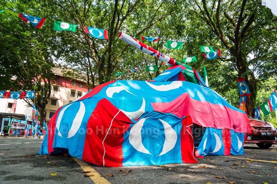 PKR Tank - 13th Malaysian General Election @ Kuala Lumpur, Malaysia