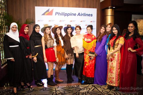 Costumes of the different countries for the new destination routes