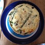 Mushroom & Asparagus Quiche