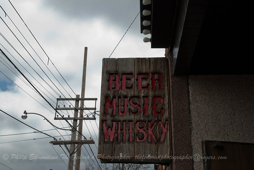 Beer, Music, Whiskey