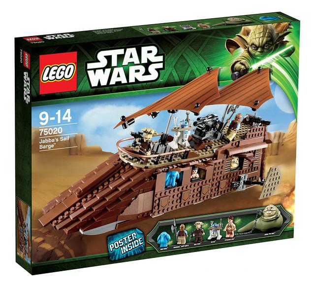 LEGO Star Wars 75020 - Jabbas Sail Barge - BoxArt