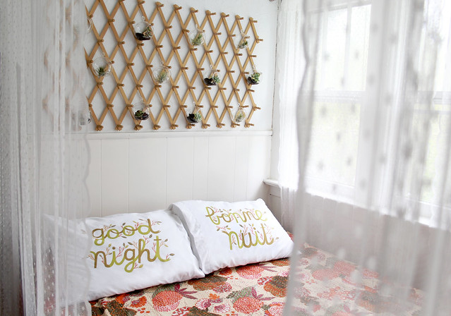 Bed Nook Makeover