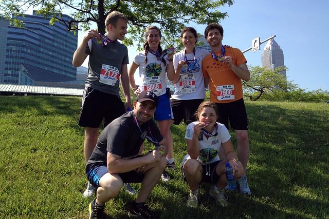 Half-Marathon Group Portrait 1