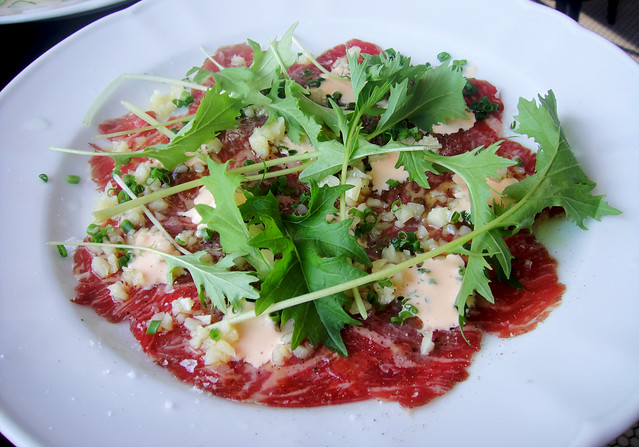 Short Rib Carpaccio