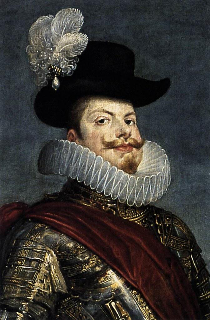 Felipe III. Diego Velázquez. Óleo sobre lienzo, 1635