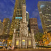 The Chicago Water Tower at Night by Mister Joe