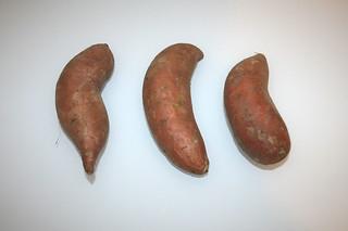 03 - Zutat Süßkartoffeln / Ingredient yams