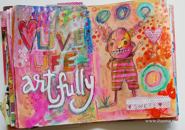 Art Journal: Live life artfully