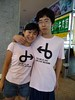 I love this picture. I just found it again. These shirts were everywhere in Beijing in 2008.