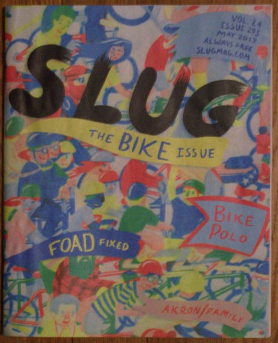 Slug Magazine of Salt Lake City, Bike issue