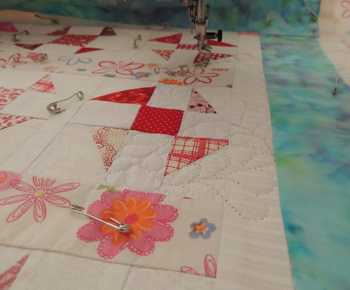 Back to quilting the Wonky Fly Doll Quilt