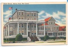 117409571321  U.S. Asbury Park New Jersey Jewish Hotel Altman