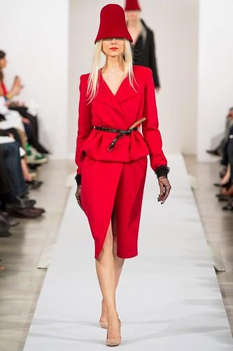 Classic Hot Pink  #Fashion Trend for Fall Winter 2013   #NYFW  New York Fashion Week Oscar De La Renta Fall Winter 2013