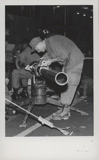Ronnie Rentz Works on a 106mm Recoilless Rifle, 19 December 1967