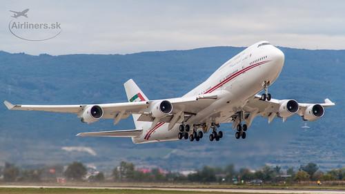A6-HRM Dubai Air Wing / Royal Flight Boeing 747-422