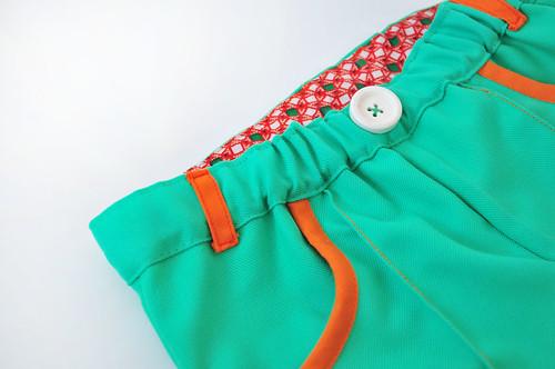 groen + oranje en een ouderwetse knoop