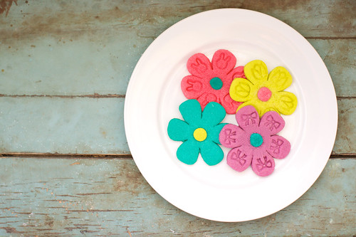 Blooming cookies.