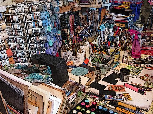 Laura's studio 4