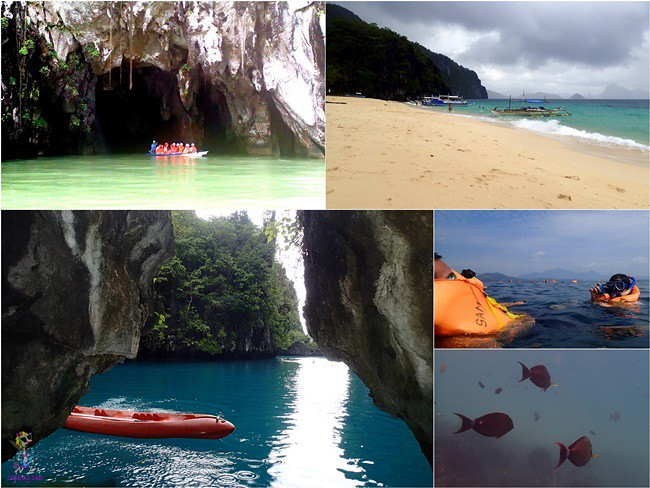 four day itinerary palawan