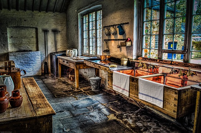 Saltram House Kitchen