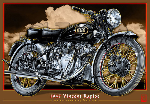1947_Vincent_Rapide_motorcycle_poster