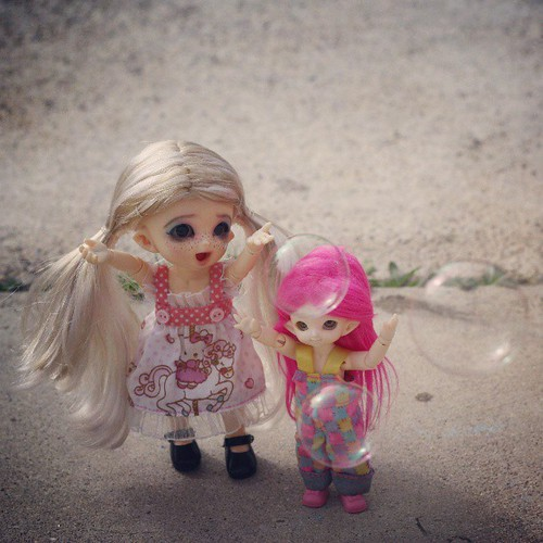 ADAD 96/365 - Bubbles!!! by Among the Dolls