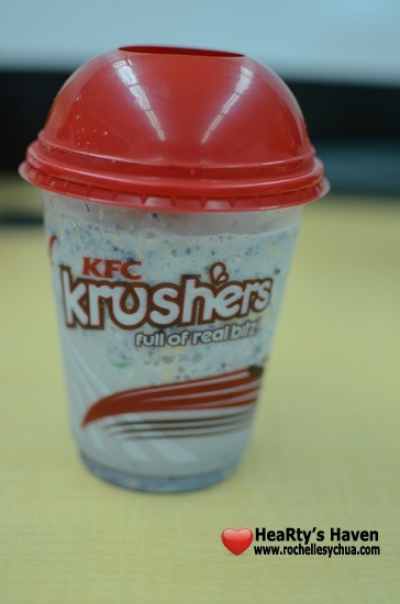 KFC Krushers Halo Halo