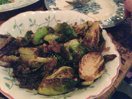 Roasted Brussels Sprouts with Bacon @ Hart and the Hunter