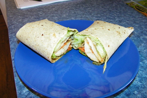 Vietnamese Chicken Wrap