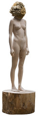 <strong>The Tainted - </strong> <br />Aron Demetz, Sensa Titolo, 2013, Maplewood and silicon, 60 cm x 217 cm