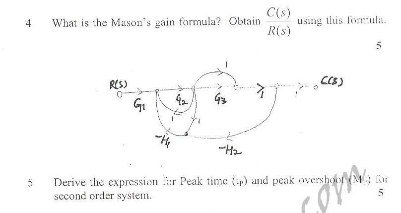 DTU Question Papers 2010 – 6 Semester - Mid Sem - COE-314