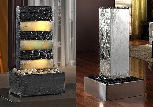 Cascadas y fuentes de agua decorativas para interior - Comprar fuente de agua ...