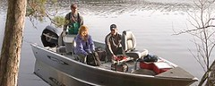Lund Boats1750 Outfitter Tiller