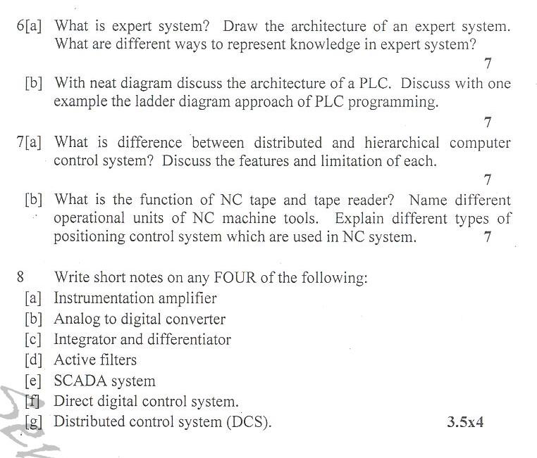 DTU Question Papers 2010 – 6 Semester - End Sem - PE-315