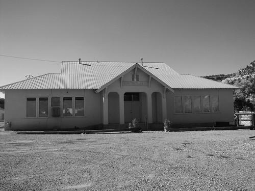 school blackandwhite museum architecture colorado smalltown naturita