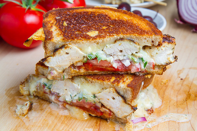 Chicken Gyro Grilled Cheese (aka The Gyro Melt) | Flickr ...