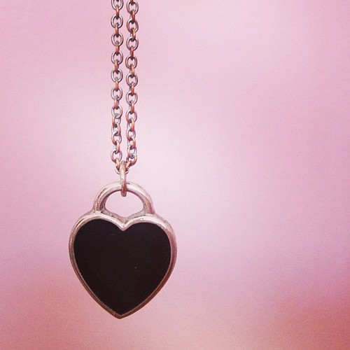 Day101 My Heart Necklace 4.11.13 #jessie365