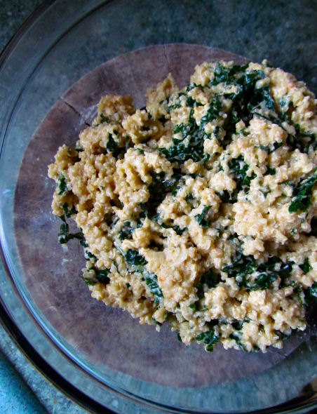 Quinoa Kale Stuffing