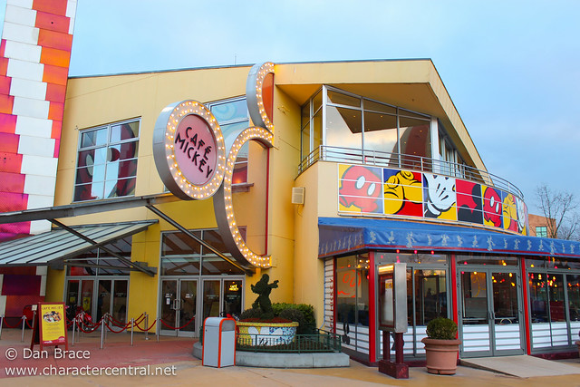 Cafe Mickey at Disneyland Paris A Review Blog Discussion Disney
