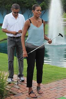 Michelle Obama Camisole Vest Celebrity Style Women's Fashion