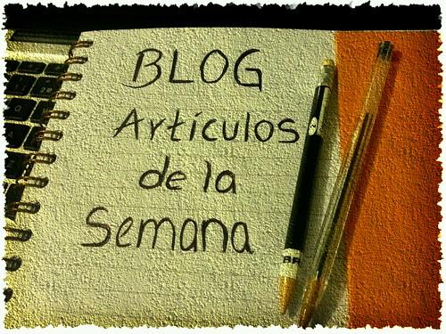 Social Media: Artículos de la semana -Bloggers a seguir