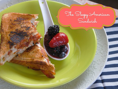 The Sleepy American Sandwich| Licious Food